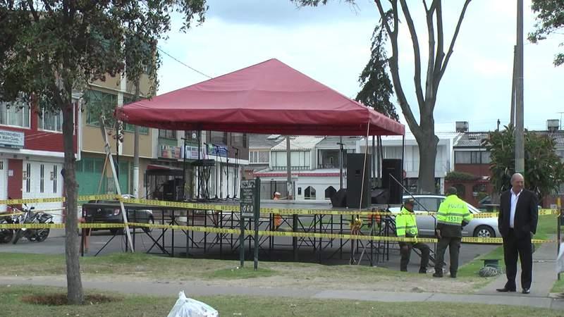 A pesar del concepto de la Alcaldía Mayor siguen los eventos religiosos en el parque de Castilla
